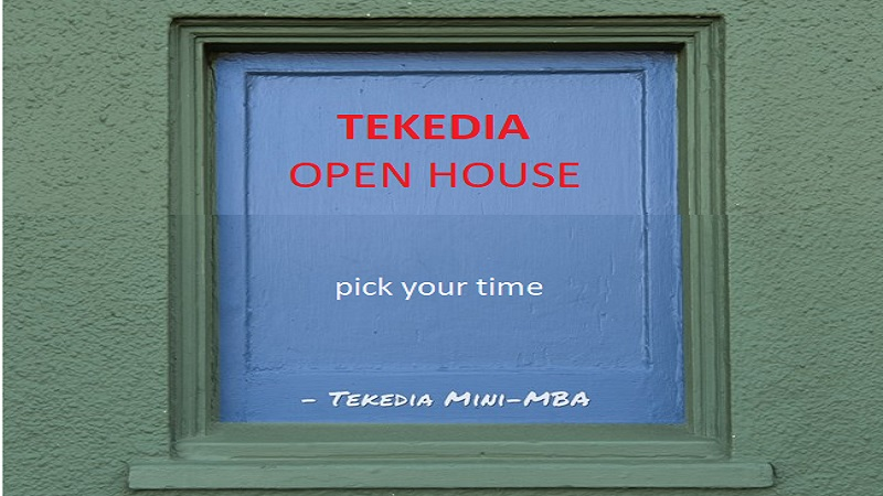 Tekedia Open House – Pick Your Time