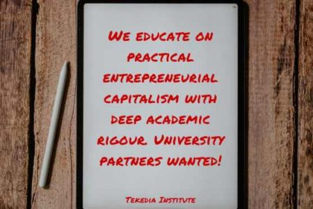 Tekedia Institute Seeks University Partners To Co-educate Students of the Future