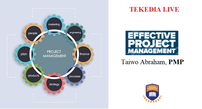 Tekedia Live Tomorrow – Effective Project Management by PMI Future 50 Recipient