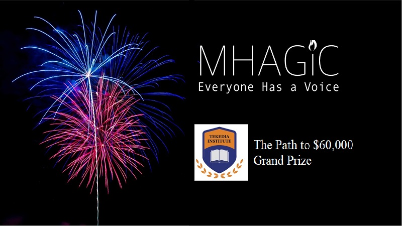 Tekedia Mini-MBA Goes for Mhagic Velocity $60,000 Prize; Support Our Team