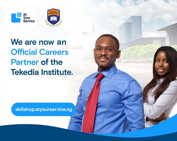 AtYourService Technologies Is Now An Official Careers Partner of Tekedia Institute