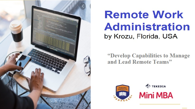 Attend  Remote Work Administration Session Lab Today at 7pm WAT