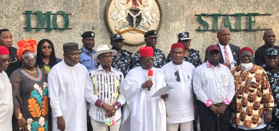 """Southeast Nigeria Unveils """"Ebube Agu"""" Joint Security Outfit And Bans Open Grazing"""