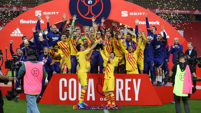 Barcelona Wins Copa del Rey, Increasing their Chances to Keep Messi