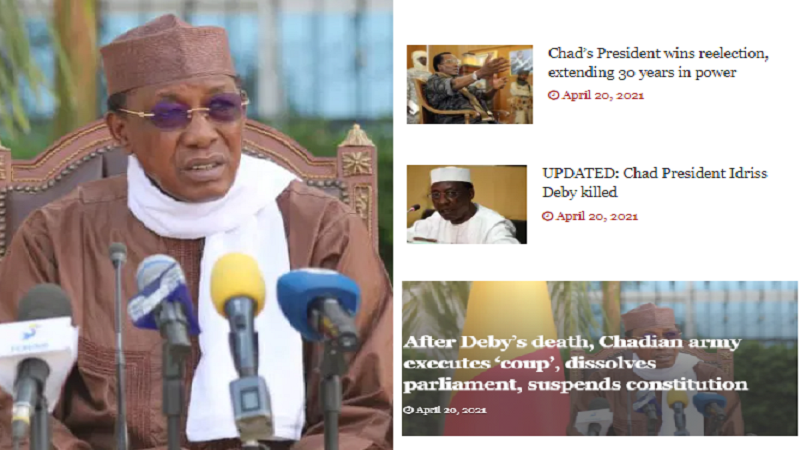 Chad's Idriss Deby And The Challenge of Segment-Level Leadership
