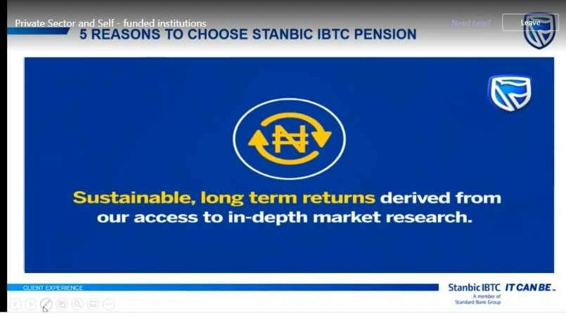 Two Days At Stanbic IBTC Pension – Pension,  Pentech and Service