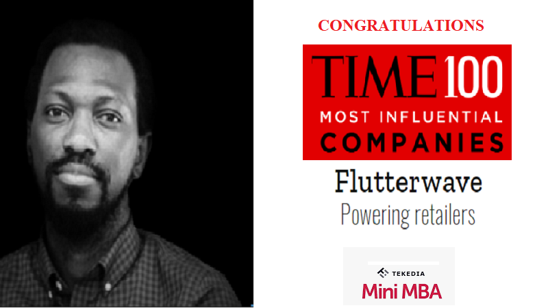 Congrats Our Faculty and Flutterwave – Time 100 Most Influential Companies