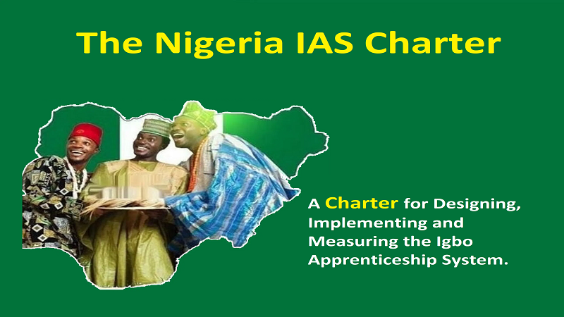A Charter for the Igbo Apprenticeship System (IAS)