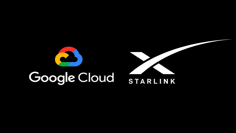 Google Cloud Wins SpaceX Deal for Starlink Internet Connectivity