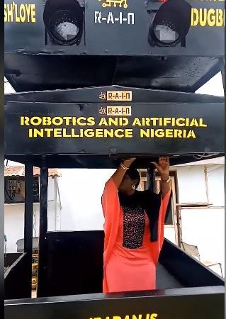 First Robot Traffic Warden Closes in Ibadan as the City Gets Smart Traffic Warden Unit
