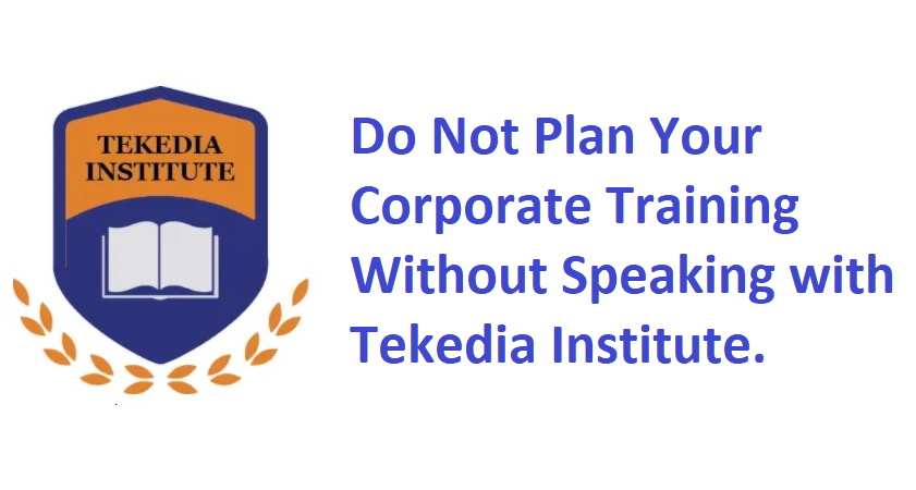 Corporate Training – Tekedia Wants To Speak With You!