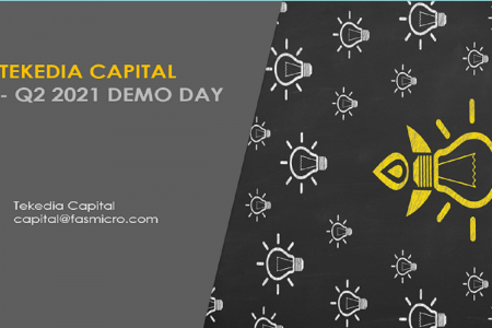 Tekedia Capital Q2 2021 Demo Day Is June 12, 2021 [Attend]