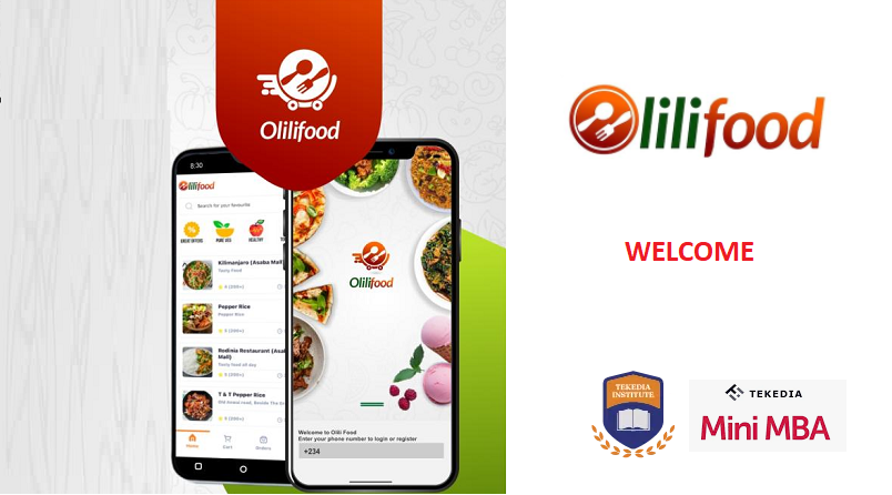 Welcome OliliFood By Downloading Its Food Delivery App