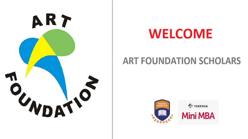 Welcome 10 ART Foundation Scholars To Tekedia Institute