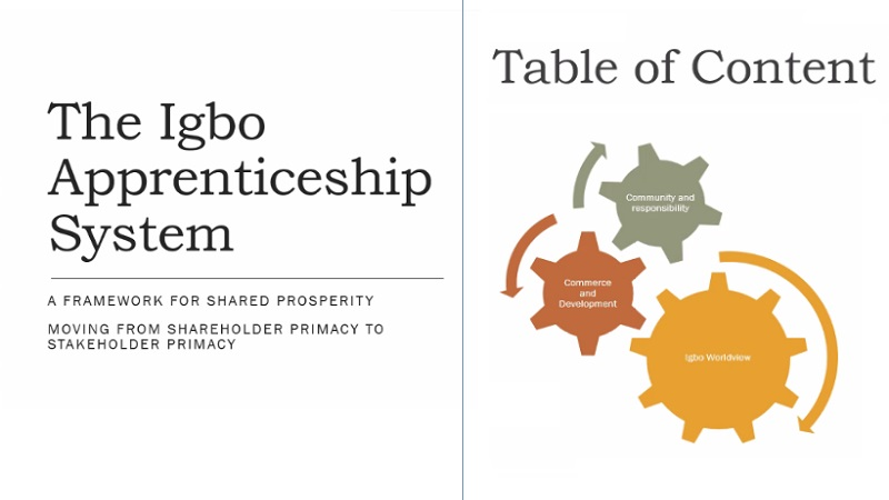 """The Tekedia Mini-MBA Course On The """"Igbo Apprenticeship System"""""""