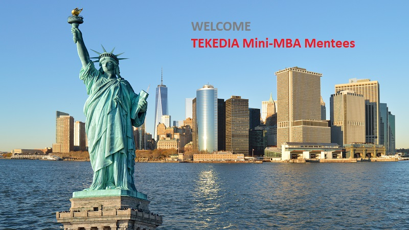 Welcome Tekedia Mini-MBA Mentees; You Will Advance With US Business Executives