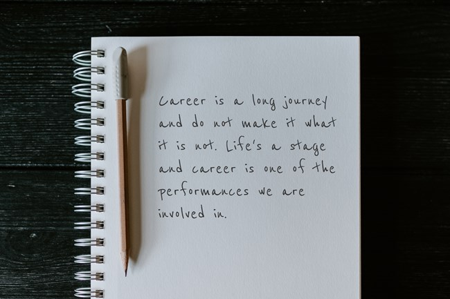 Run your Stage Playbook And Make Your Career Yours