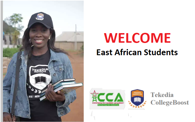 Welcome East African Students To Tekedia CollegeBoost