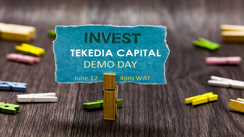 Tekedia Capital Demo Day Is June 12 (Saturday) At  4-6pm [Join Us]