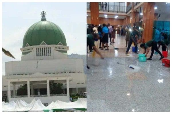 When The Parliament Leaks in Abuja!