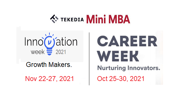 Beat Tekedia Mini-MBA Early Registration Deadline  And Join Tekedia Special Weeks Free