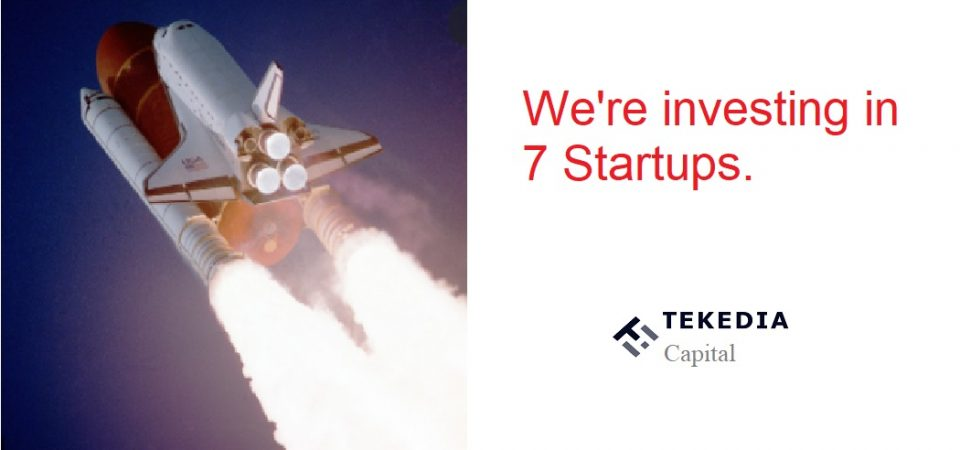 Let's Ride The Rocketship Together At Tekedia Capital