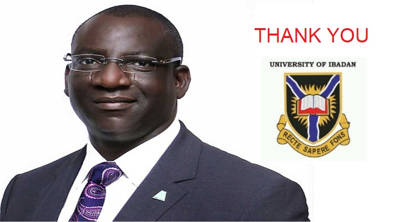 Thank You Femi Akintunde For Funding the Future At University of Ibadan