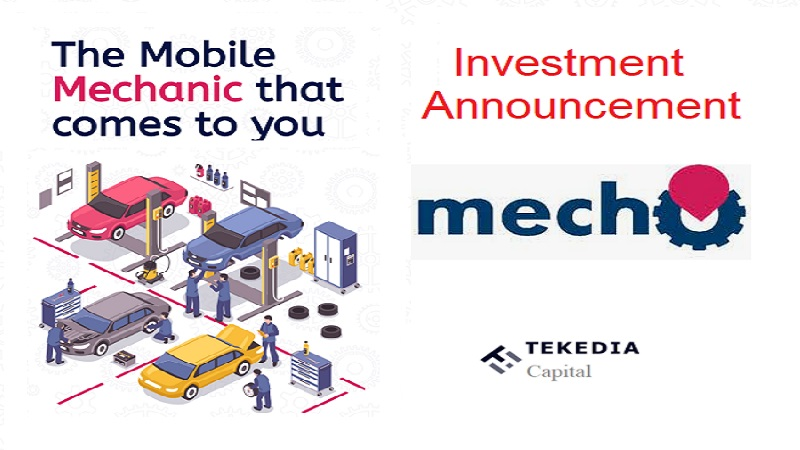 Tekedia Capital Invests In Mecho Autotech