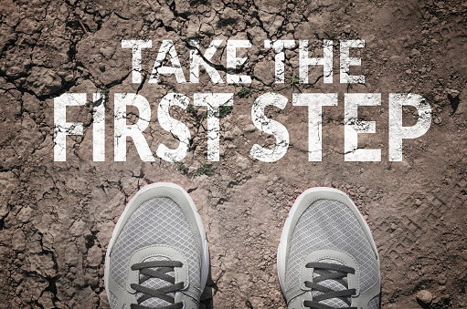 Take your FIRST STEP on something productive