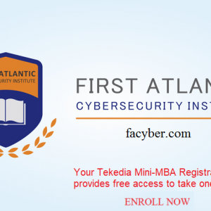 Facyber Cybersecurity Courses – Bonus For Early Registration for Tekedia Mini-MBA