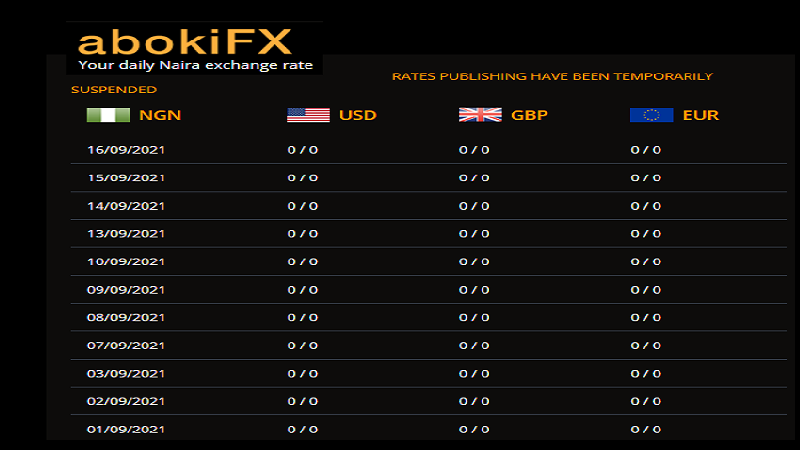 Waiting for AbokiFX Whitepaper On How It Determines The Naira Rates
