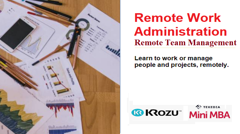 """Recording of """"Remote Work Administration & Remote Team Management"""" Now Available"""